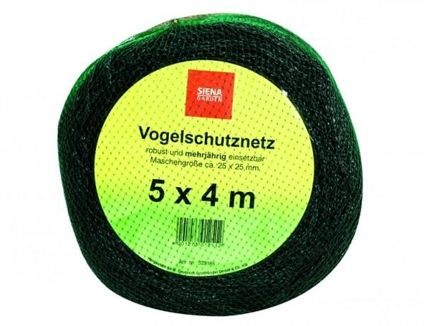 SIENA GARDEN V.-schutznetz 5x4m, Profi 20x20mm, Bändchen