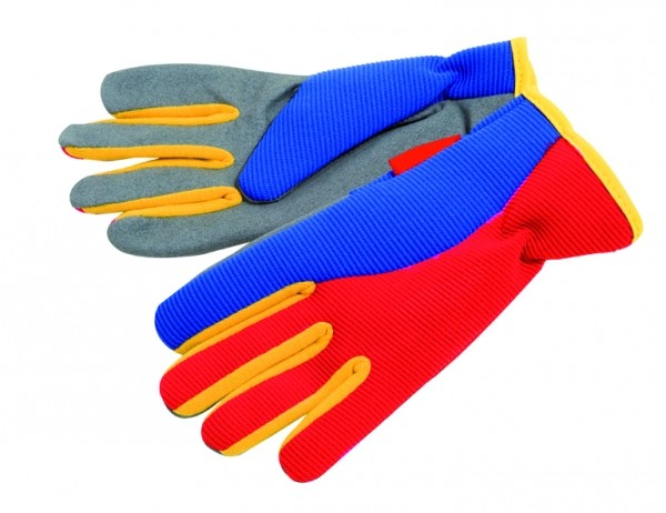 SIENA GARDEN Kinderhandschuh Spandex Spandex/Leder