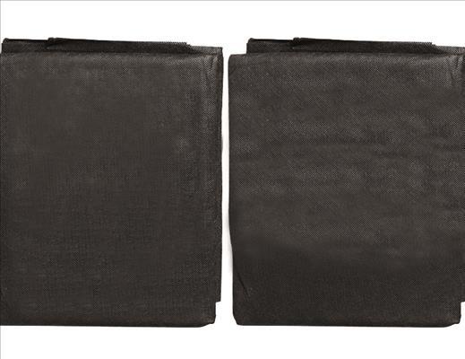 SIENA GARDEN Anti-Unkrautvlies 0,8x10m 30g, SB, schwarz