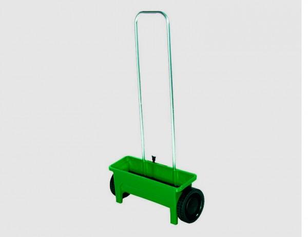 SIENA GARDEN Streuwagen 12l grün mit Streutabelle