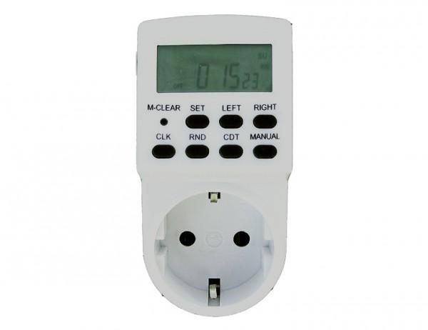 TS-ELECTRONIC Zeitschaltuhr elektrisch/digitalmit Tages- und Wochenprogramm digital
